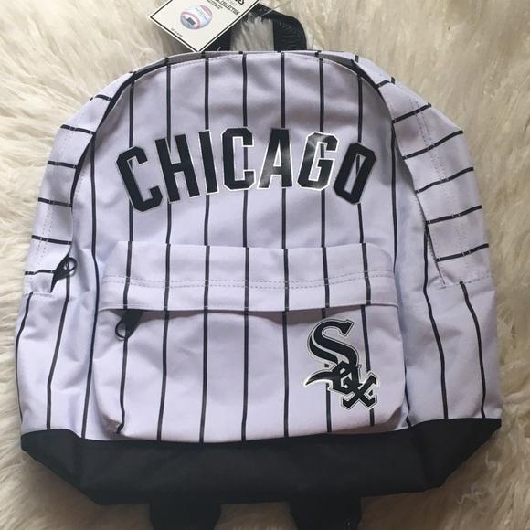 96589d5cca0 Pink Victoria s Secret White Sox medium backpack